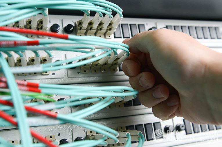 Сетевое оборудование в серверной