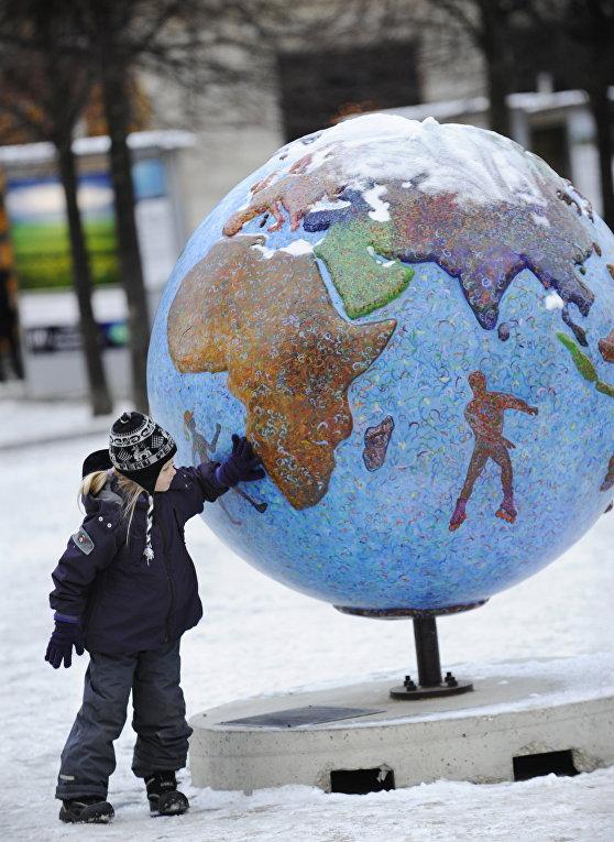Глобус в Копенгагене