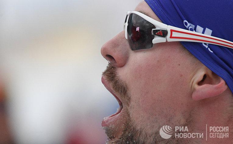 Сергей Устюгов (Россия) после финиша