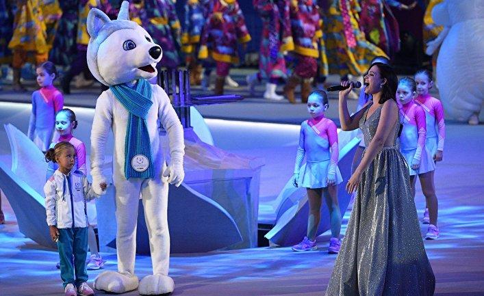 Церемония закрытия XXIX Всемирной зимней Универсиады 2019