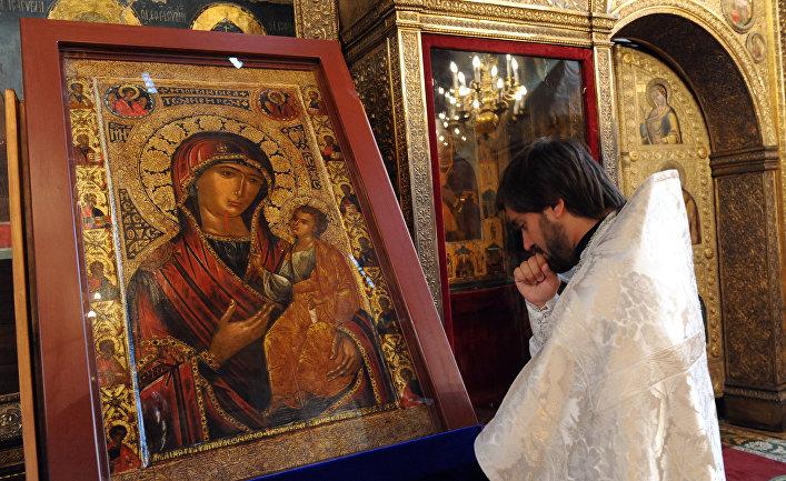 Патриаршее Богослужение в день памяти Кирилла и Мефодия