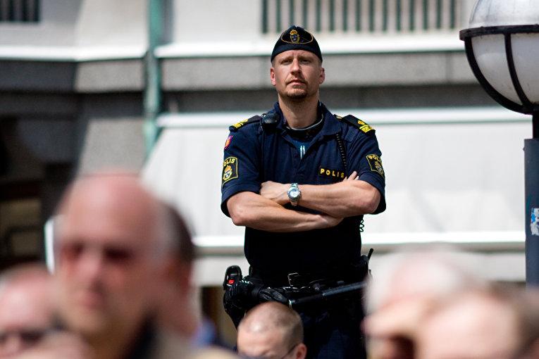 Полицейский в Швеции