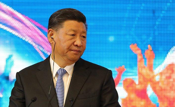 Председатель Китайской Народной Республики (КНР) Си Цзиньпин