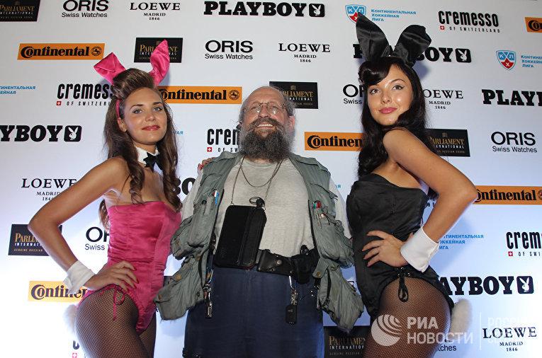Анатолий Вассерман на церемонии награждения самой красивой девушки года по версии журнала Playboy