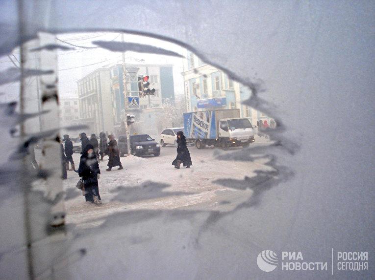 Морозы в Якутске