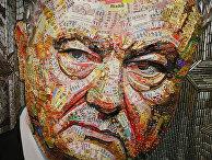 Портрет президента Украины Петра Порошенко