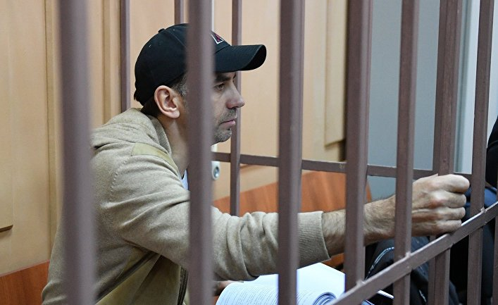 Избрание меры пресечения М. Абызову