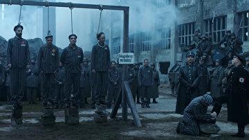 Кадр из клипа Deutschland группы Rammstein