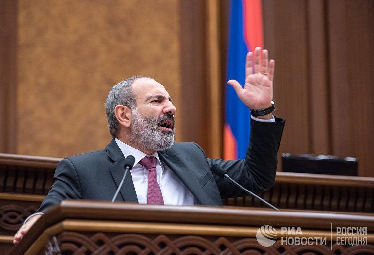 Парламент Армении отклонил кандидатуру Н. Пашиняна на пост премьер-министра