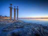 Монумент Мечи в камне, Норвегия