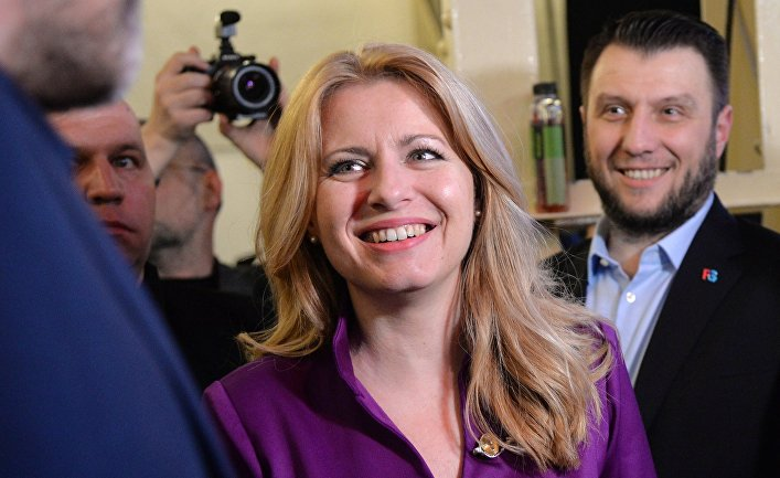 Второй тур президентских выборов в Словакии