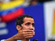 Лидер оппозиции Венесуэлы Хуан Гуайдо
