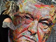 Портрет президента Украины Петра Порошенко украинской художницы Даши Марченко