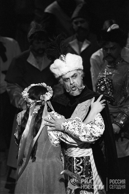 Опера Петра Чайковского «Мазепа» насцене Государственного академического Большого театра СССР (ныне России)