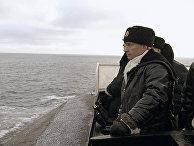 """Владимир Путин вышел в море на подлодке """"Архангельск"""""""