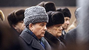 Генеральный секретарь ЦК КПСС Михаил Горбачев