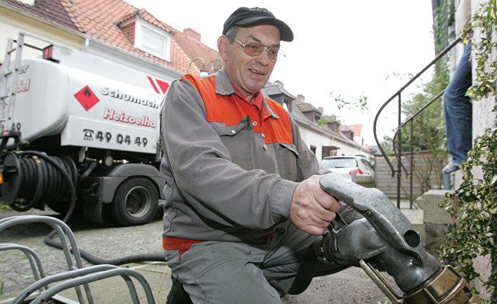 Автозаправщик в Германии