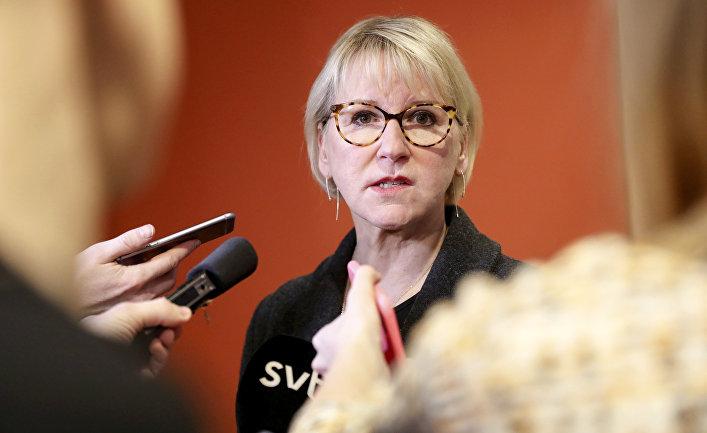 Глава МИД Швеции Маргот Валльстрём