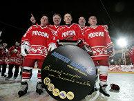 Вячеслав Фетисов, Владимир Крутов, Сергей Макаров Игорь Ларионов, Алексей Касатонов