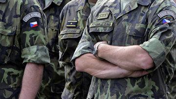 Учения НАТО Saber Junction Exercise в Хохенфельсе на юге Германии