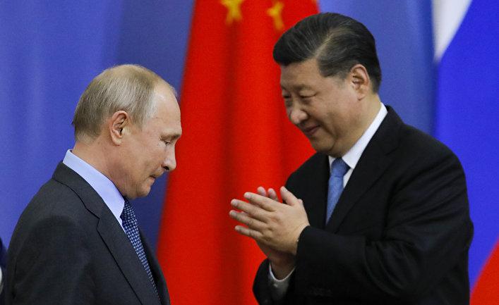 Президент РФ В. Путин принимает участие в Петербургском международном экономическом форуме