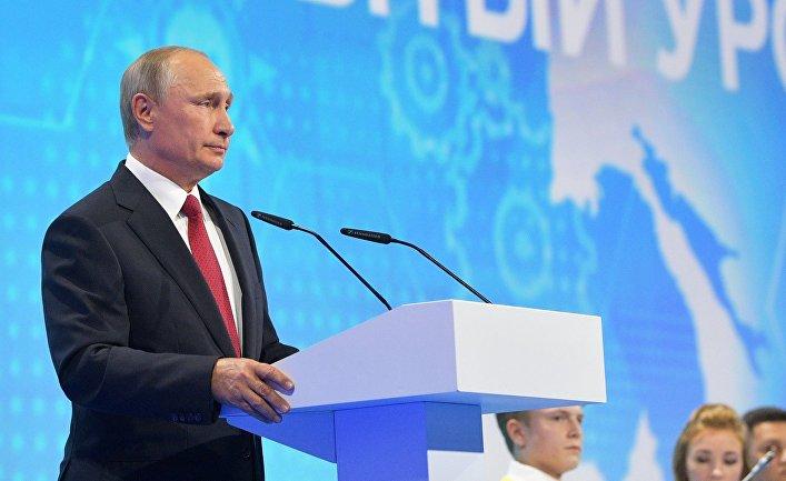 Рабочая поездка президента РФ В. Путина в Ярославскую область