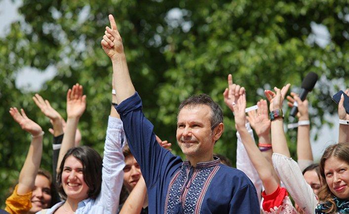 С. Вакарчук объявил о создании своей партии