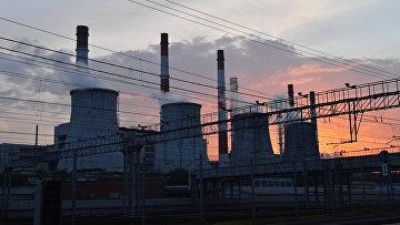 Электростанция ТЭЦ-20 в Москве