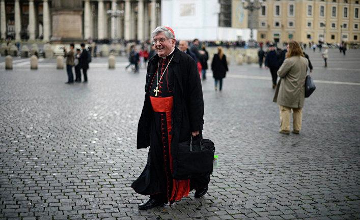 Кардинал Томас Коллинз из Канады