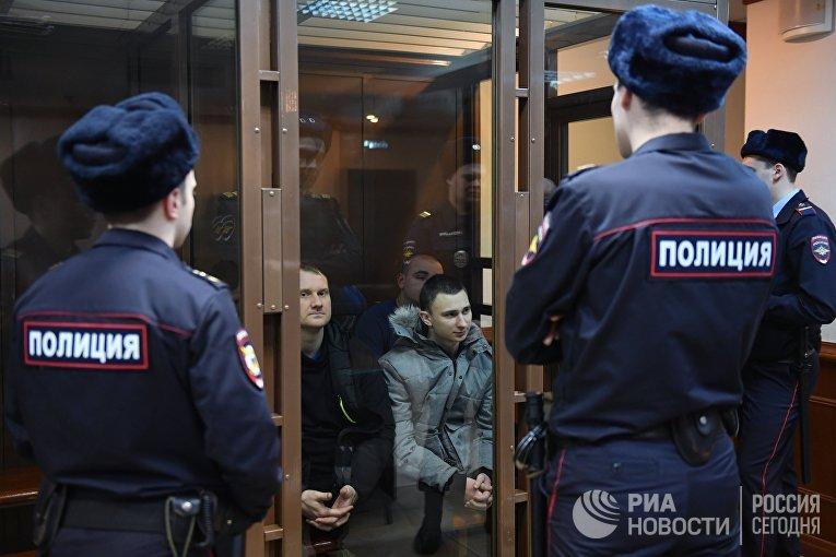 Рассмотрение жалобы на продление ареста украинским морякам