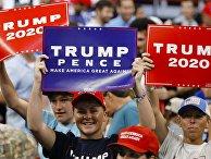 Старт избирательной кампании Д. Трампа