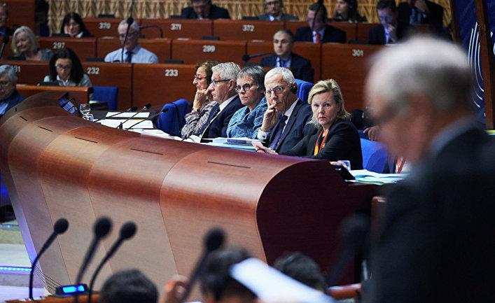 Заседание ПАСЕ