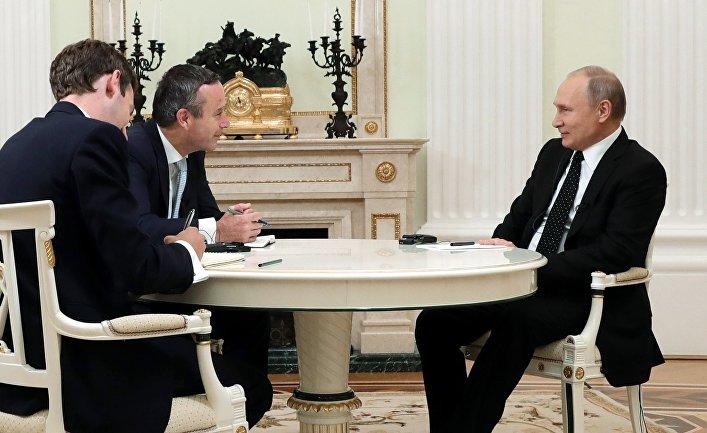 Интервью президента РФ В. Путина газете Financial Times