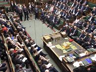 Заседание британского парламента в Лондоне
