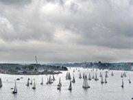 Яхты на пути из шхер Стокгольма к острову Готланд, Швеция