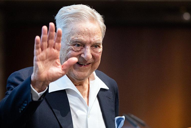 Американский финансист Джордж Сорос