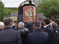 Траурные мероприятия в память о погибших моряках-подводниках