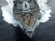 Британский фрегат HMS Montrose