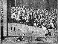Вступление Генриха IVв Париж 22марта 1594, анонимный французский художник