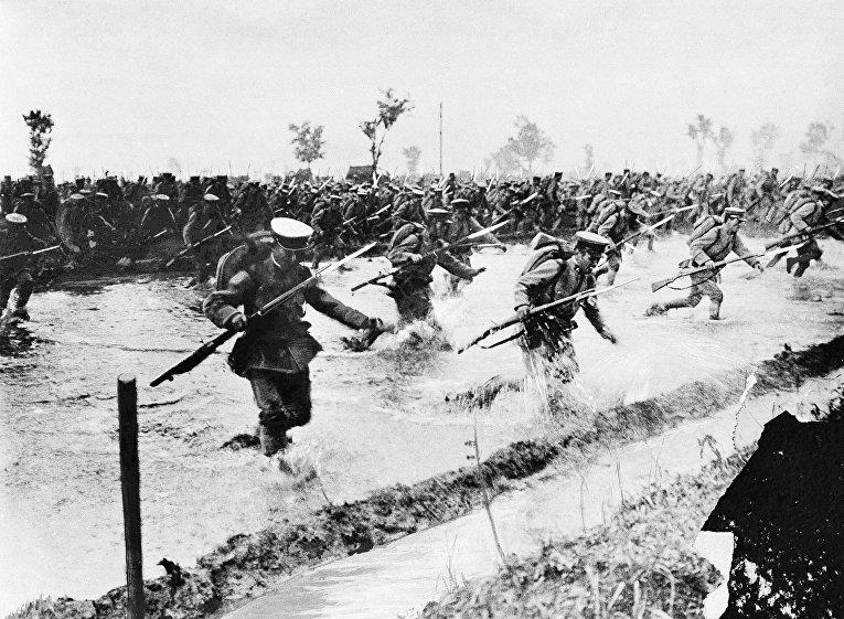Японская пехота во время русско-японской войны в 1904 году