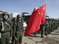 Российские и китайские военнослужащие