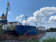 Служба безопасности Украины 25 июля задержала российский танкер Neyma