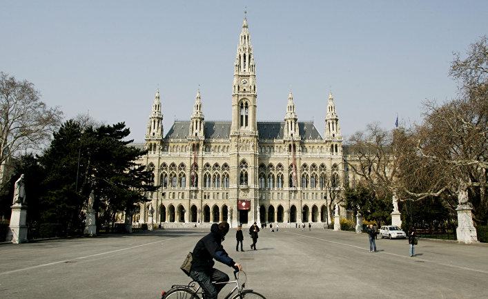 Ратуша в центре Вены, Австрия