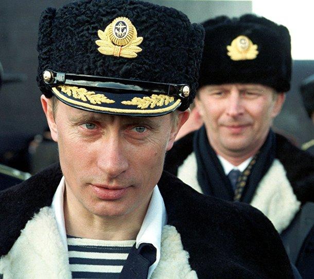 Путин, исполняющий обязанности президента