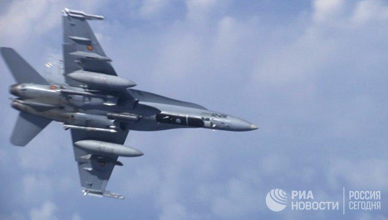 Истребитель НАТО попытался приблизиться к борту министра обороны РФ С. Шойгу