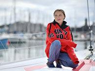 Шведская активистка Грета Тунберг