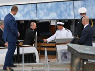 Рабочий визит президента РФ В. Путина в Финляндию