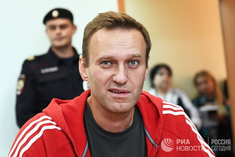 Рассмотрение вопроса о продлении срока ареста А. Навальному