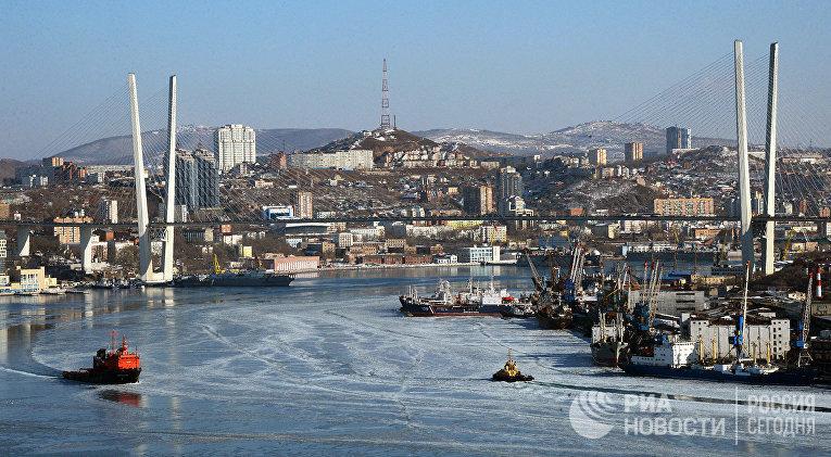 Минприроды разработает программу очистки бухты Золотой рог