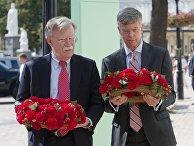 Визит советника президента США по нацбезопасности Дж. Болтона в Киев